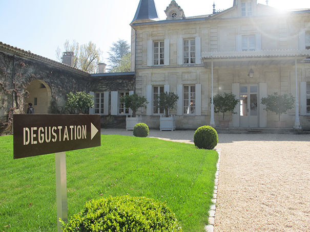 Degustation Sign - Cheval Blanc