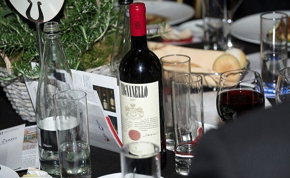 Tignanello 2007 at the Bobby Moore Cancer Research